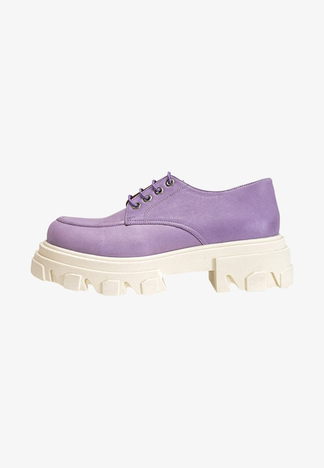 Sportieve veterschoenen - light purple lpe