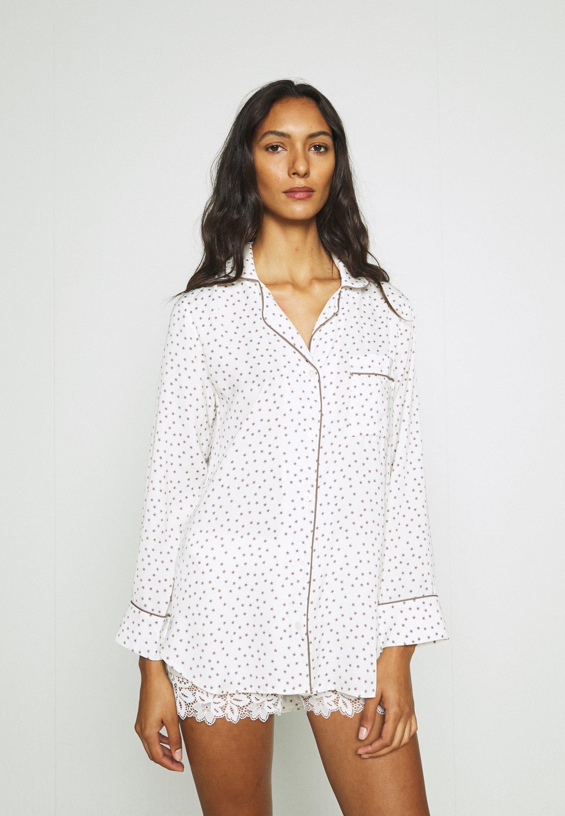 Donna PIPING SHIRT - Maglia del pigiama