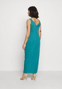 Forever New Petite - VICTORIA WRAP DRESS PETITE - Suknia balowa - teal - 2