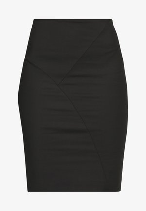 SKIRT  - Spódnica mini - nero