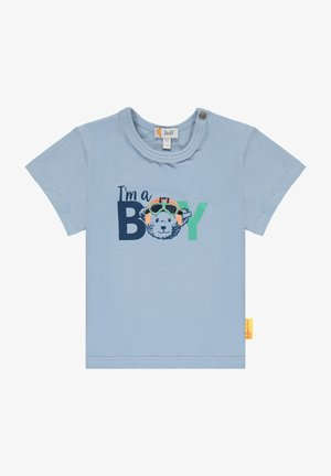 HIGH FIVE MIT SCHRIFTZUG - Print T-shirt - forever blue