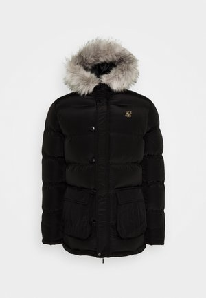 STOP PUFF - Wintermantel - black