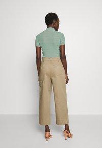 Sportmax Code - JANGY - Kalhoty - khaki - 2