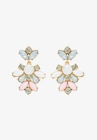 Pieces - PCJARLO EARRINGS - Earrings - gold coloured/clear/pastel - 1