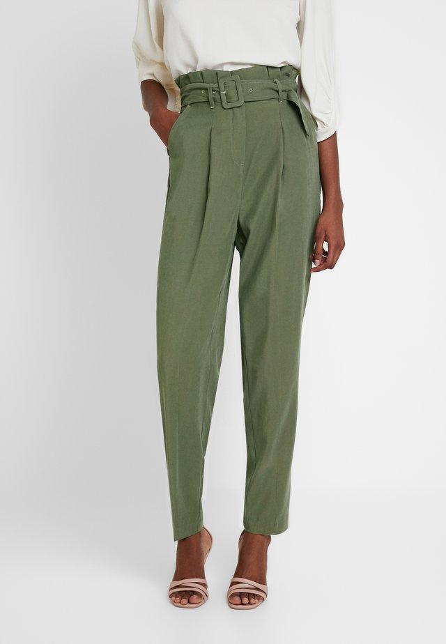 PENNY UTILITY - Pantalon classique - dark khaki
