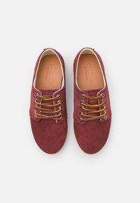 Pompeii - HIGBY UNISEX - Sneakersy niskie - marron/caramel - 3