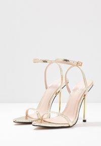 BEBO - AIVY - Sandaler med høye hæler - gold metallic - 4