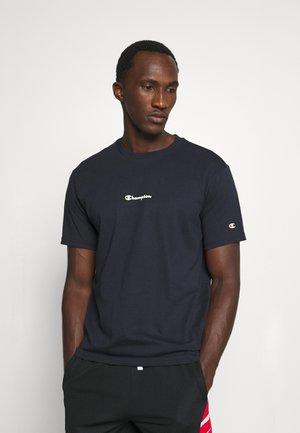 GRAPHIC SHOP BASKET CREWNECK - T-shirt med print - navy