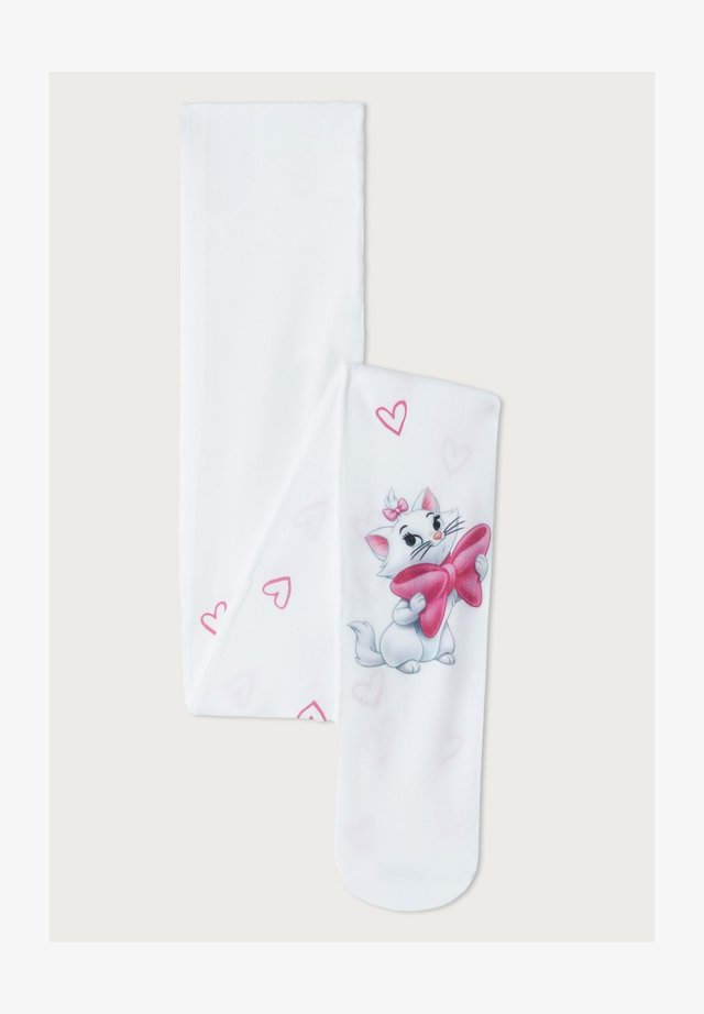 Tights - weiß - disney aristocats white patterned