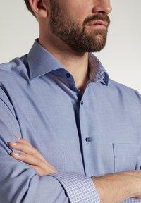 Eterna - MODERN FIT - Shirt - blau - 2