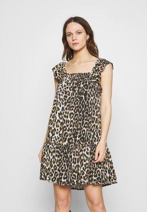 TASSIE DRESS - Vapaa-ajan mekko - brown