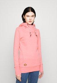 Ragwear - GRIPY BOLD - Mikina skapucí - pink - 0