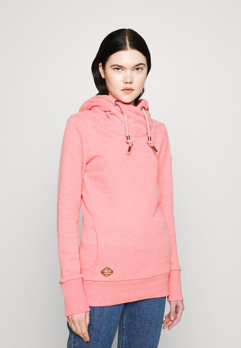 Ragwear - GRIPY BOLD - Mikina skapucí - pink