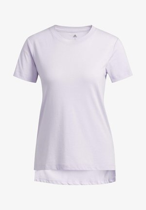 GO-TO T-SHIRT - T-shirt z nadrukiem - purple