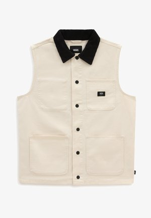 MN DRILL CANVAS VEST - Liivi - seedpearl