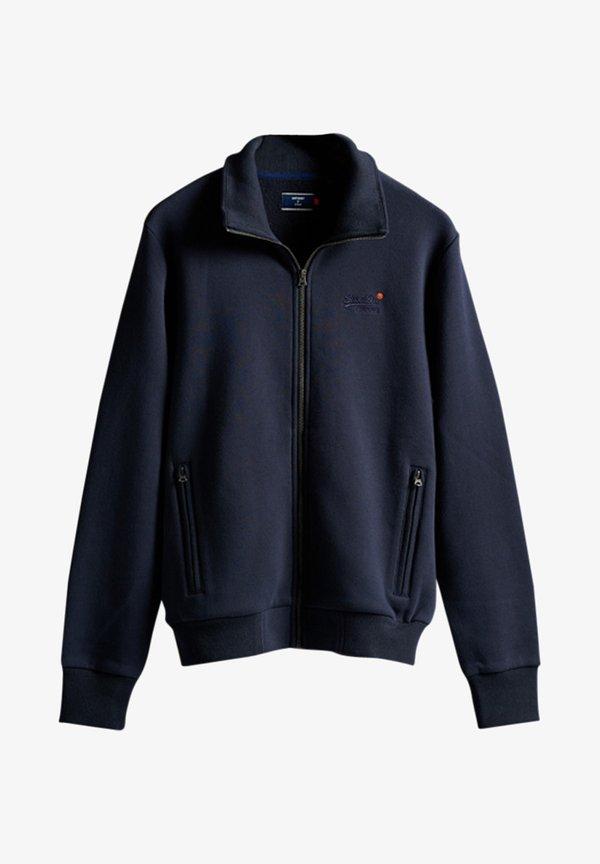 Superdry ORANGE LABEL CLASSIC TRACK - Bluza rozpinana - rich navy/niebieski Odzież Męska WMIL