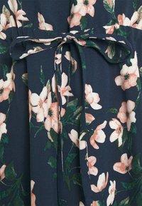 Vero Moda - VMSIMPLY EASY TIE SHORT DRESS - Day dress - navy - 2