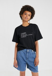 Mother of Pearl - CHARLIE - Print T-shirt - black - 0
