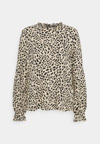 b.young - BYIDRA BLOUSE - Long sleeved top - cement - 0