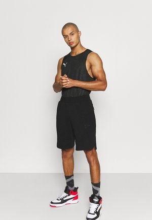DIME SHORT - kurze Sporthose - black