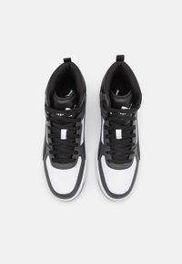 Puma - REBOUND JOY UNISEX - High-top trainers - dark shadow/black/white - 3