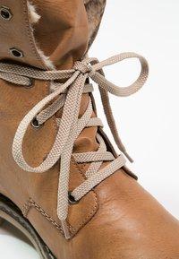 Rieker - Šněrovací kotníkové boty - cayenne/kastanie/braun - 6