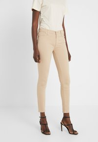 7 for all mankind - CROP - Jeans Skinny Fit - sandcastle - 0