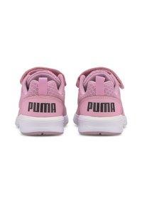 Puma - NRGY COMET PRESCHOOL UNISEX - Trainers - pale pink-black-white - 3