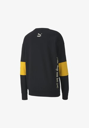 PUMA PUMA X RANDOMEVENT CREW MEN'S SWEATER MÄNNER - Sweatshirt - black