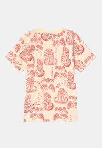 Mini Rodini - TIGERS UNISEX - Print T-shirt - offwhite - 1
