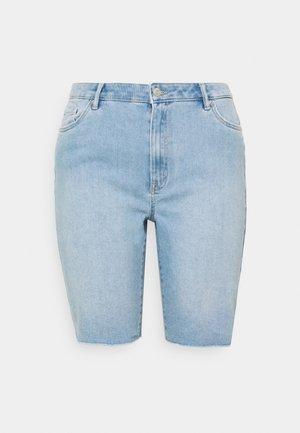 VMLOA FAITH  - Denim shorts - light blue
