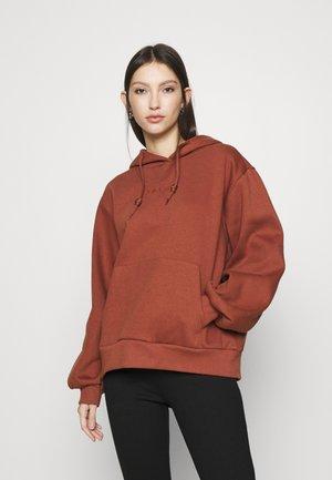 HOODIE  - Sweatshirt - brown