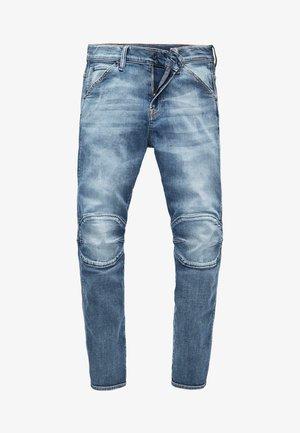 SLIM FIT 5622 ELWOOD JEANS - Slim fit jeans - dark indigo lame