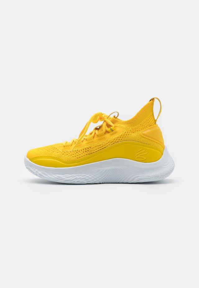 CURRY 8 UNISEX - Basketbalschoenen - taxi