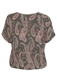Kaffe Curve - KCARKY - Blouse - grape leaf paisley print - 4