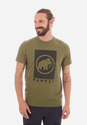TROVAT - Print T-shirt - olive