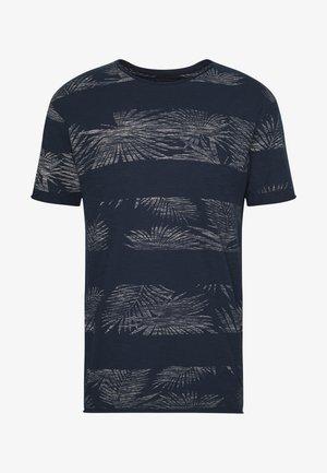 ALLEN - T-shirt con stampa - navy