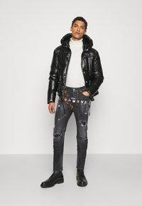 John Richmond - BALKIR MICK - Slim fit jeans - denim black - 1