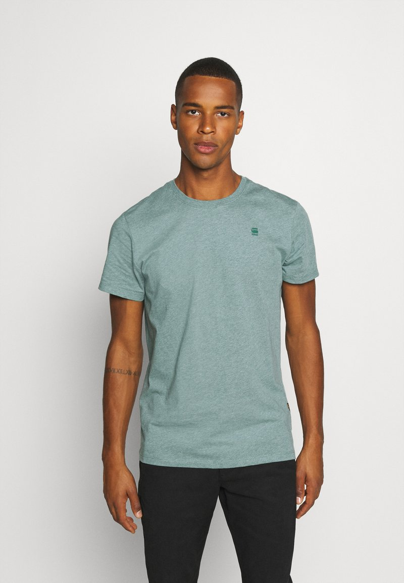 G-Star - BASE-S R T S\S - T-shirt basic - jungle htr