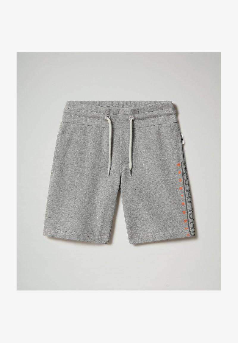 Napapijri - NADYR - Shorts - medium grey melange
