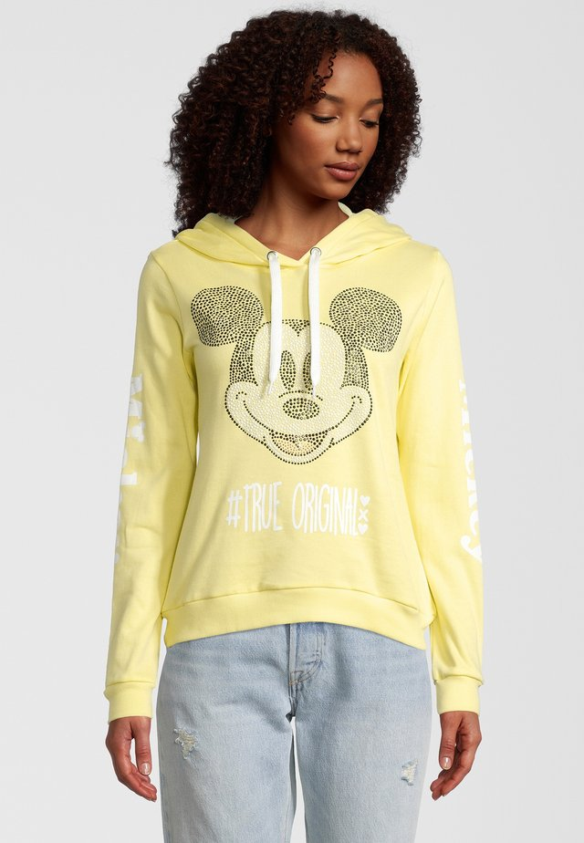 MICKEY TRUE ORIGINAL - Hoodie - yellow