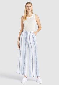 khujo - MAHSALA - Trousers - blue - 1