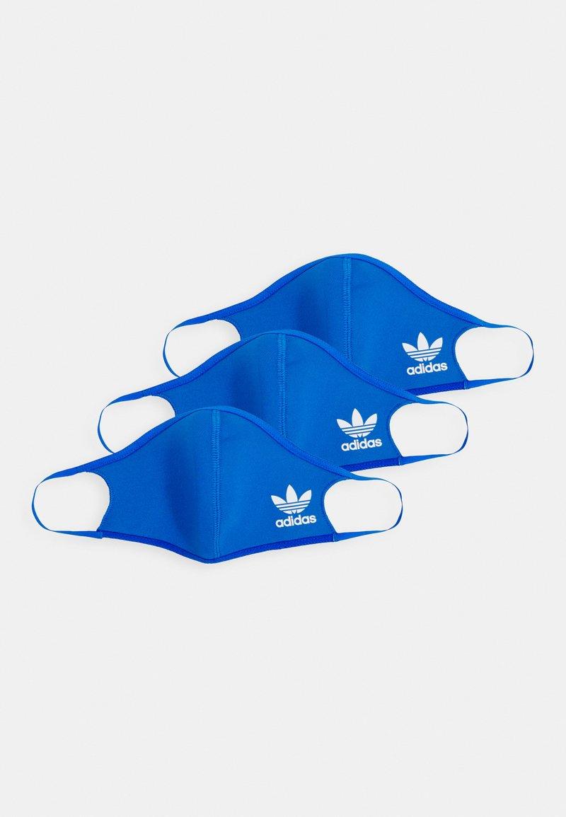 adidas Originals - FACE COVER SMALL UNISEX 3 PACK - Stoffen mondkapje - bluebird