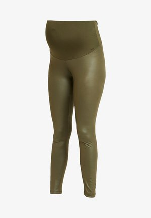 SHINNY - Leggings - Trousers - khaki
