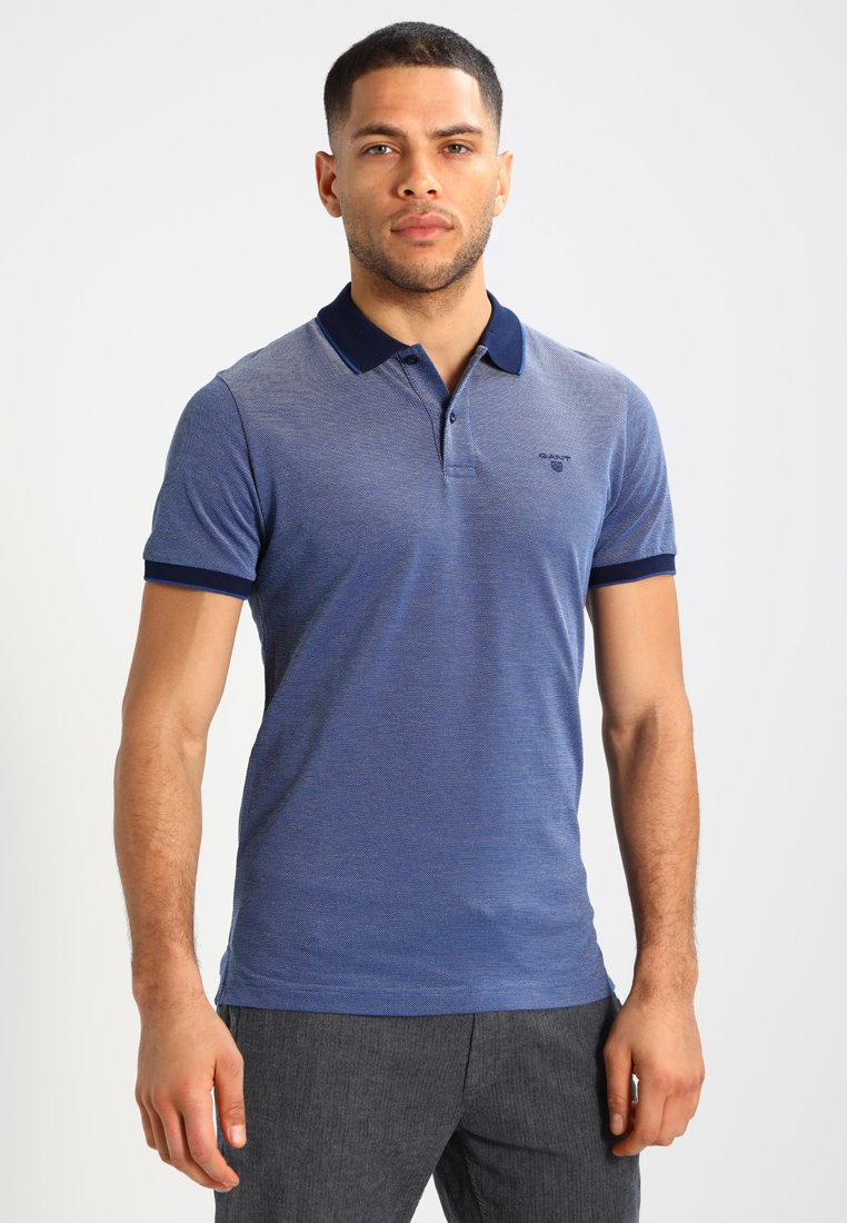 GANT - OXFORD RUGGER - Polo - persian blue