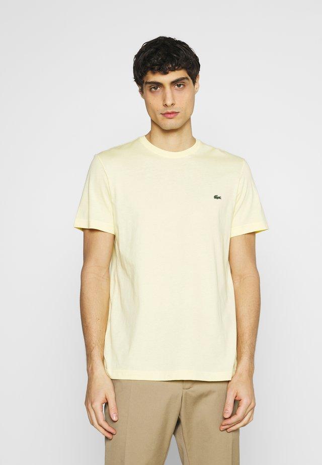 Basic T-shirt - zabaglione