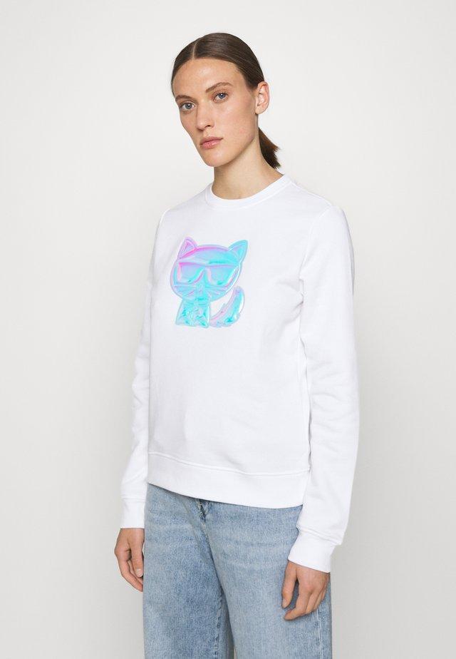 IKONIK BALLOON CHOUPETTE - Sweatshirt - white