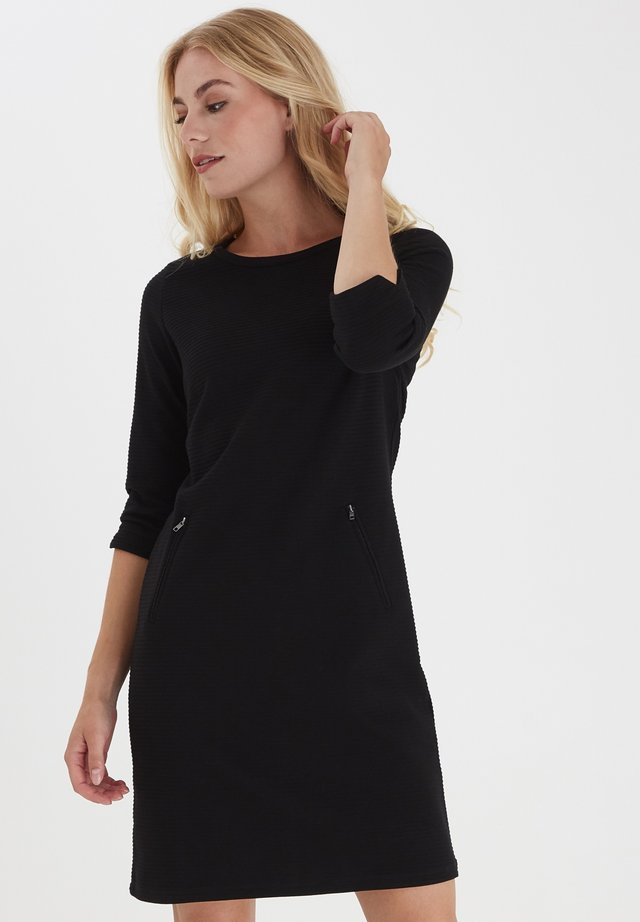 FRZARILL - Jersey dress - black