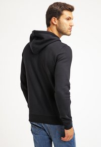Pier One - veste en sweat zippée - black - 2
