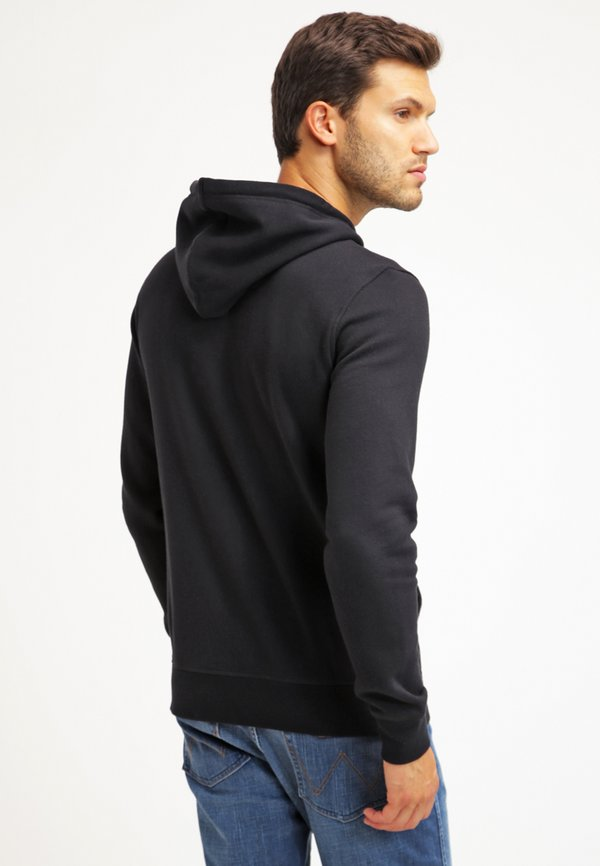 Pier One Bluza rozpinana - black/czarny Odzież Męska ROMZ